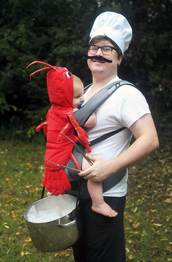 Lobster Baby Sold By Chef Dad