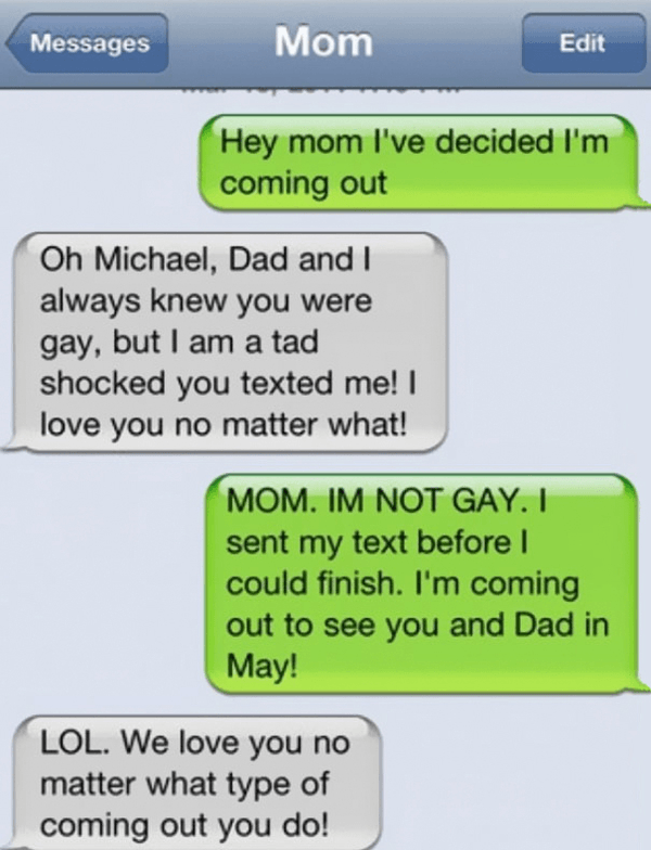 Mom Loves Gay Son