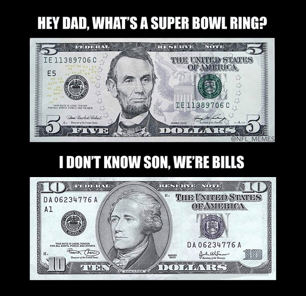 Money Bills Superbowl Unknown