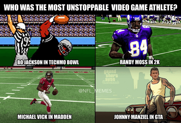 Nfl Player Video Games