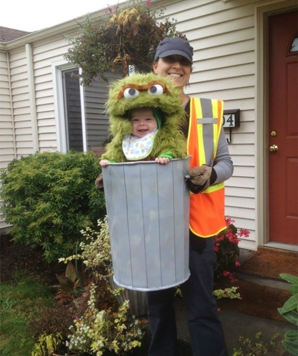 Oscar The Grouch Costume