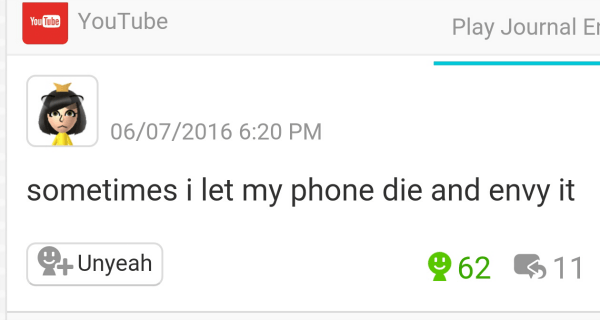 Phone Dying 2meirl4meirl