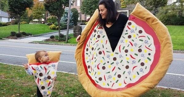 Pizza And Slice Halloween