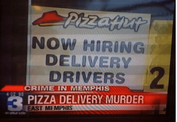 Pizza Delivery Murder