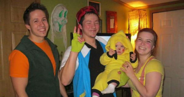 Pokemon Family Halloween Dress