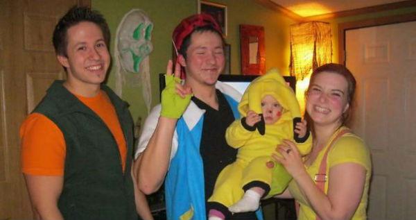 Pokemon Family Halloween Dress