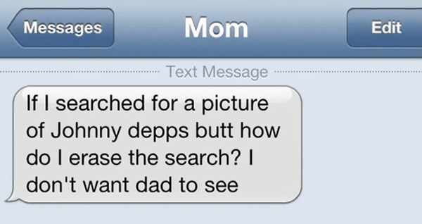 Ridiculous Mom Texts