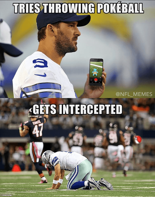 Romo Pokemon Interception