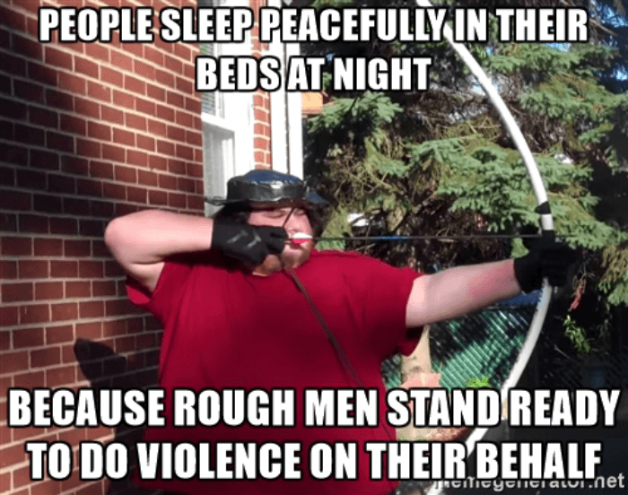 Rough Men Neckbeards
