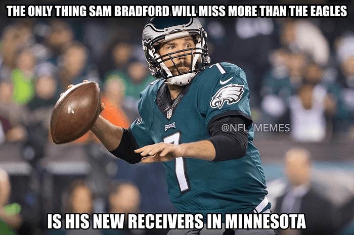 Sam Bradford Funny Football Memes