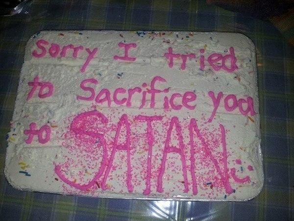 Satan Sacrifice