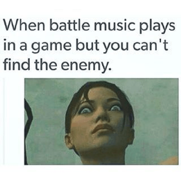 Scary Music Enemy