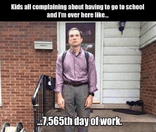 School Vs Working