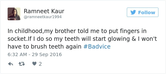Shine Teeth With Light Bulb