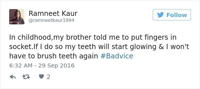 Shine Teeth With Light Bulb