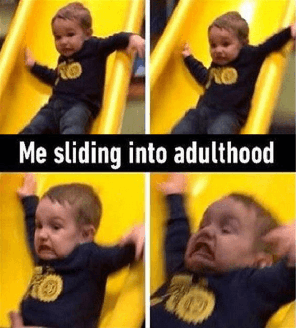 Sliding Into Adulthood