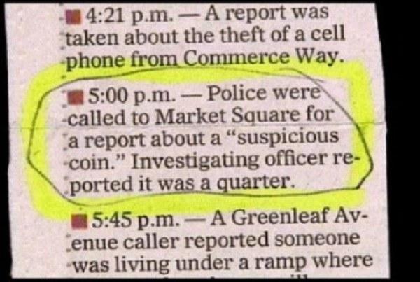 Suspicious Quarter