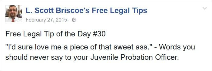 Talk Properly To Probation Officer