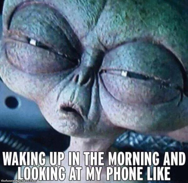 Tired Eyed Alien