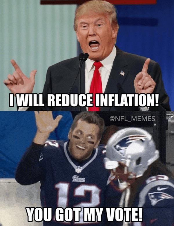 Trump Brady Inflation