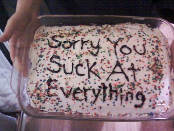 U Suck Cake