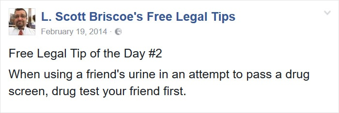 Urine Sample Tip To Remember