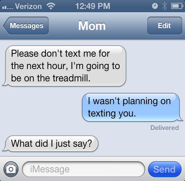 Warning From Mom