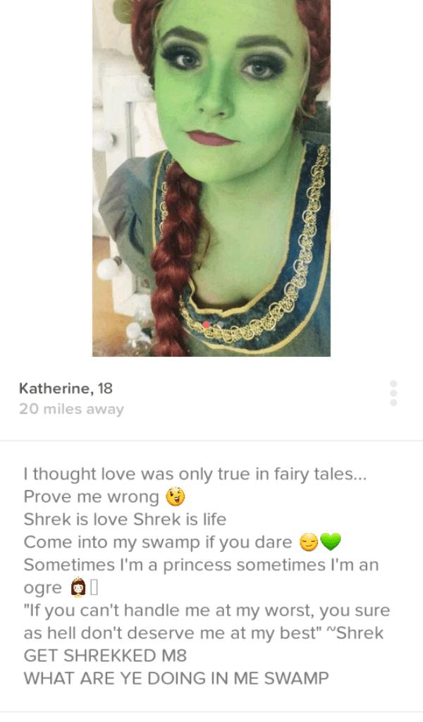 Weirdest Tinder Profile Ever