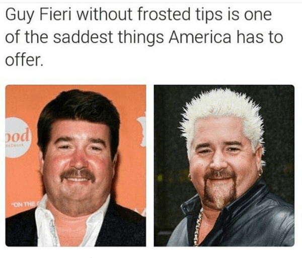 Without Frosted Tips