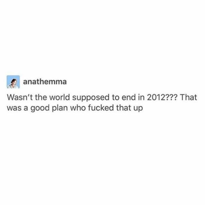 World Ending 2012