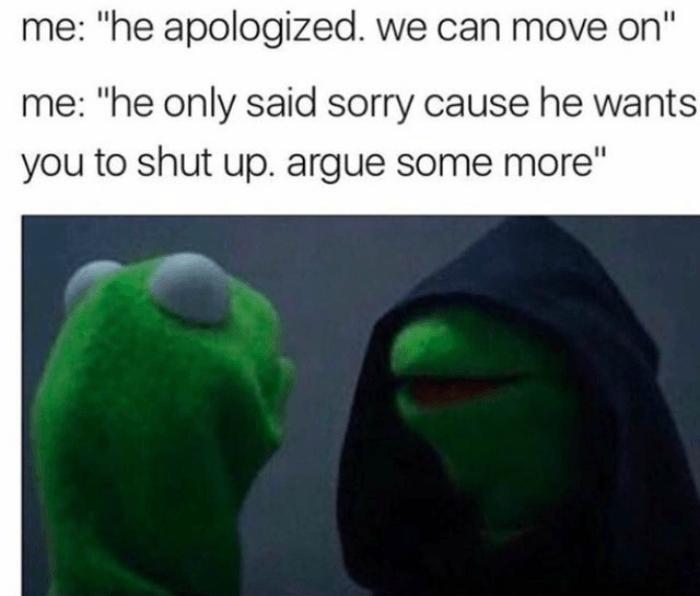 Argue More Evil Kermit Memes