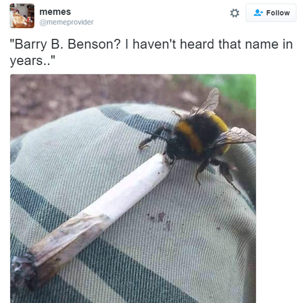 Barr B Benson Smoking