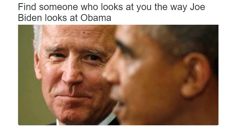 Biden Looking At Obama