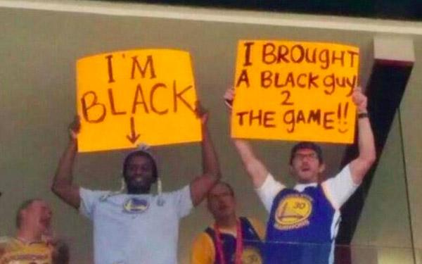 Black Guy At The Game