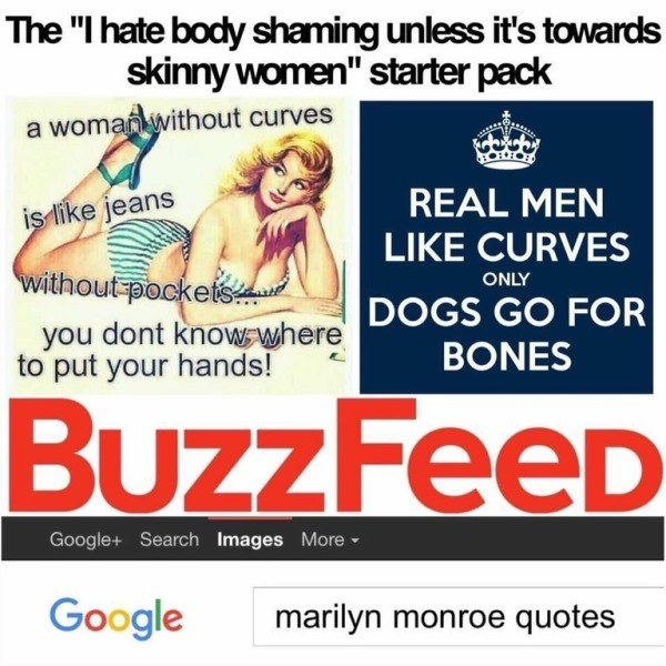 Body Shaming Starter Pack