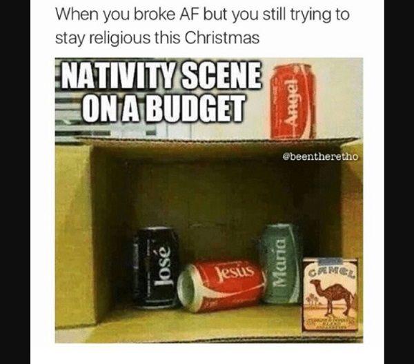 Broke Nativity