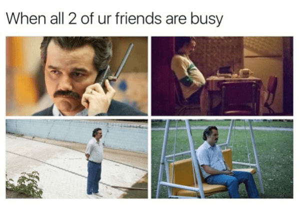 Busy Friends