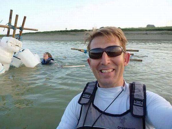 Capsized Selfie