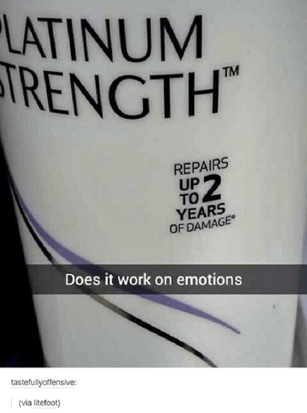 Damaged Emotions