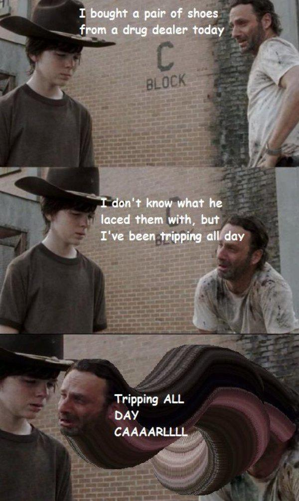 Day Tripper Walking Dead Memes