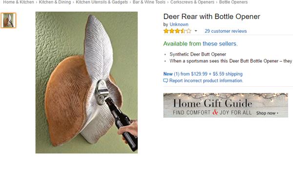 Deer Butt Opener