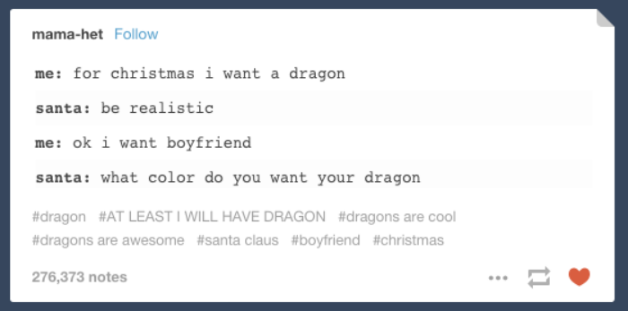 Christmas Jokes About A Dragon