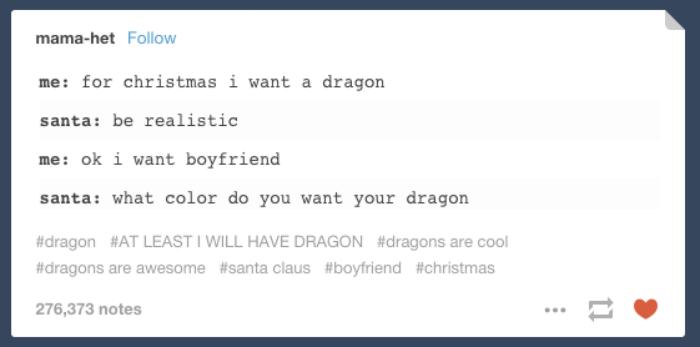 Christmas Jokes About A Dragon