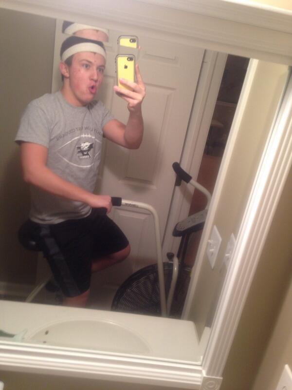 Exercise Bike Bathroom
