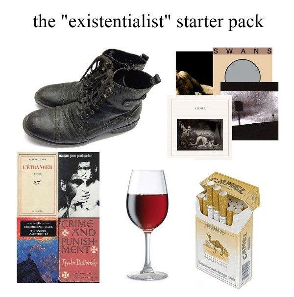 Existentialist Starter Pack