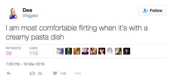 Flirting With Pasta