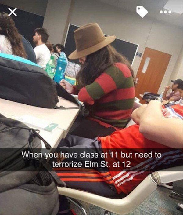 Freddy Kruger Hipster