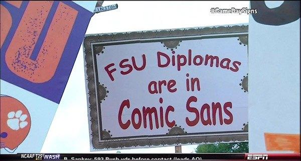 Fsu Diplomas Comic Sans
