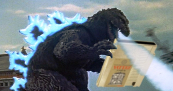 Godzilla Cartridge Blow
