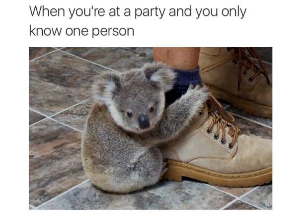 Going To A Party